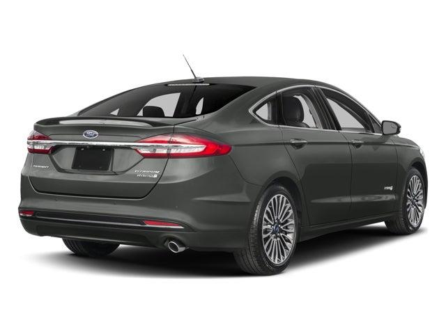 2017 Ford Fusion Hybrid Titanium Chesapeake Va Virginia